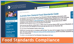 Food Standards Compliance