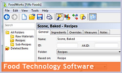 Food Technology Software